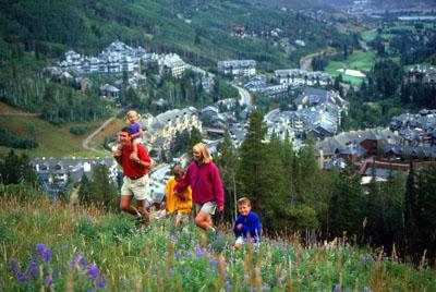 Family Hiking Beaver Creek
