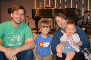 Ms. Vera - Sunday school teacher AND pianist extraordinaire!